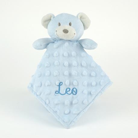 Dou-Dou Cabecitas Osito Azul +0m Personalizado