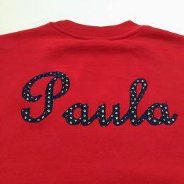 Sudadera Paula bordados
