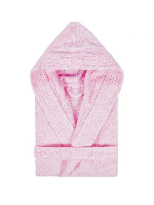 albornoz-capucha-rosa